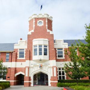 Front of the school Sturt Street campus